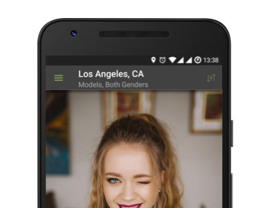 Social networking app for photographers