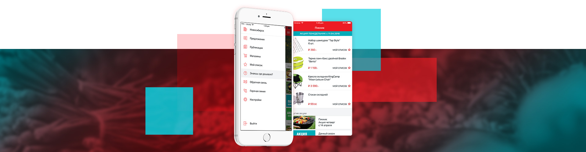 Mobile App for Holdy Discounter